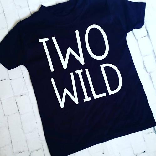 Two Wild Vest/T-shirt