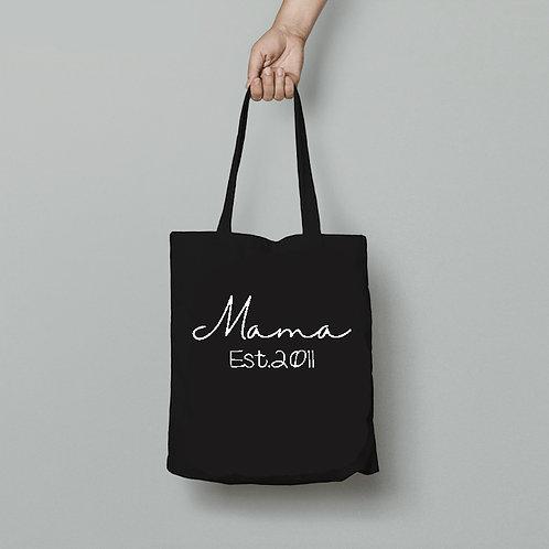 Mama Est Tote Bag