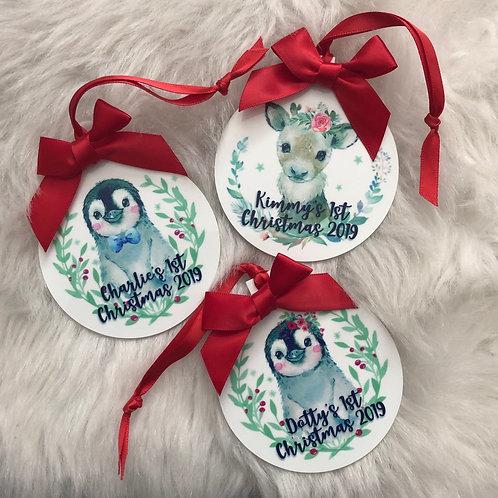 Penguin/Reindeer Decorations