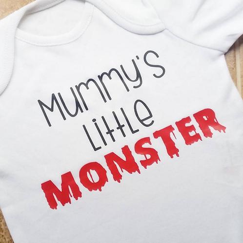 Mummy's Little Monster Vest/T-shirt