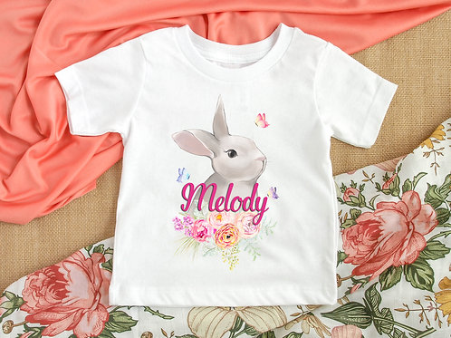 Personalised Bunny Tee/Vest