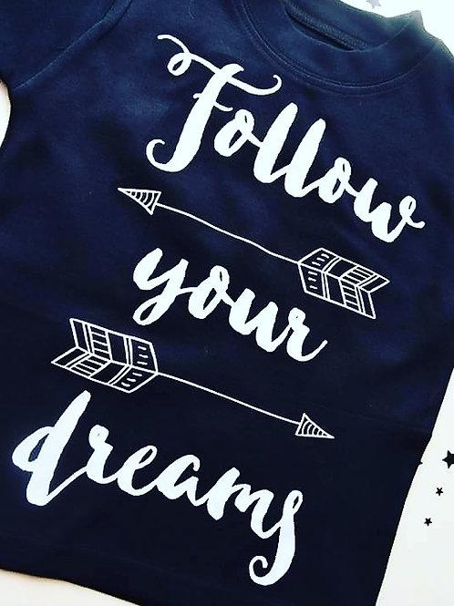 Follow Your Dreams Vest/T-shirt