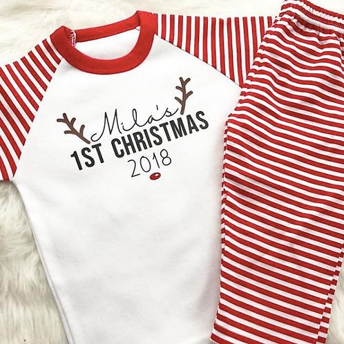 1st Christmas Pyjamas