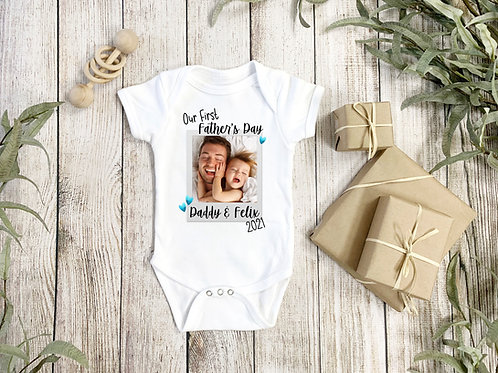 Father's Day Photo Vest/Tshirt