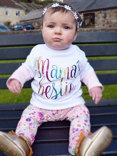Mama's Bestie Vest/Tshirt