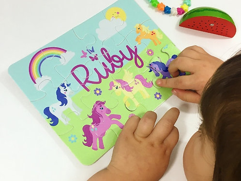 Pony personalised jigsaw
