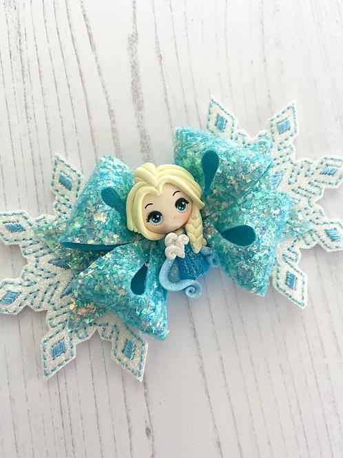 Ice princess large bow