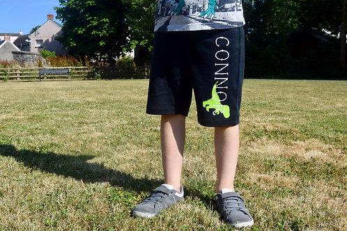 Personalised Dinosaur Shorts