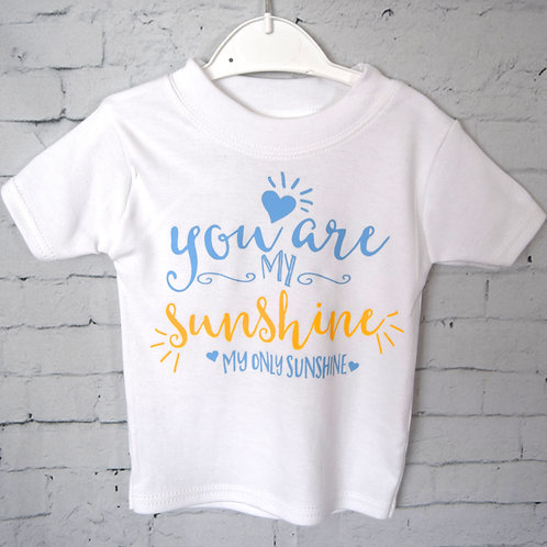 You Are My Sunshine Vest/T-shirt