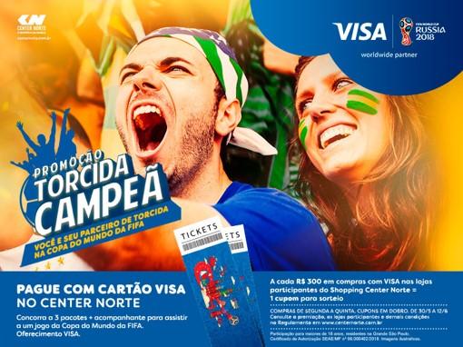 Copa do Mundo - Shopping Center Norte