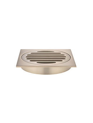 Floor Grate - 100mm - Champagne