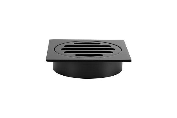 Floor Grate - 100mm - Matte Black