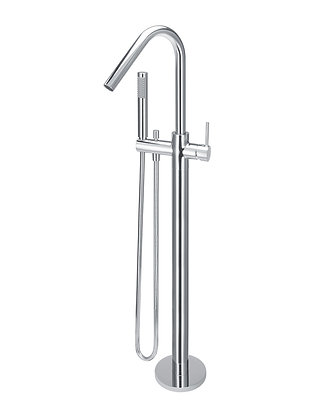 Freestanding Bath Mixer Tap - Chrome