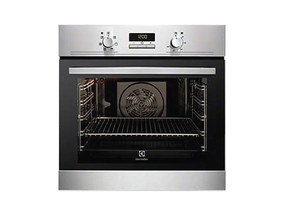 Multifunctional oven w.ring heating element