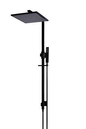 King 2-in-1 Shower Rail Set - 300mm