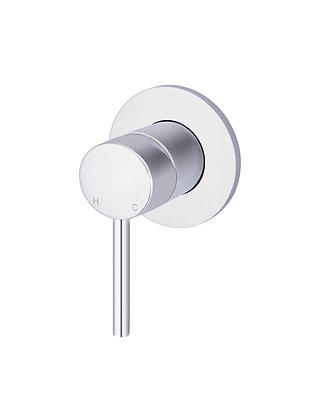 Round Wall Mixer - Chrome