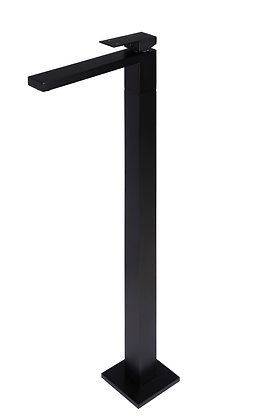 Freestanding Bath Mixer Tap - Matte Black