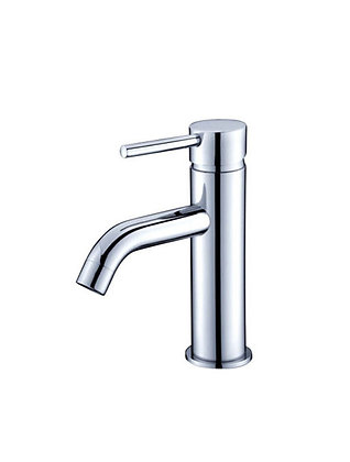 Retro Basin Mixer Tap - Chrome