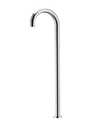 Freestanding Bath Filler Round - Chrome