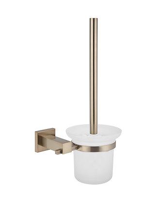 Champagne Toilet Brush Round