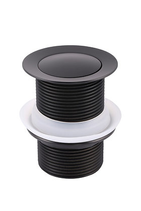 40mm Bath Pop-Up Waste without Overflow - Matte Black