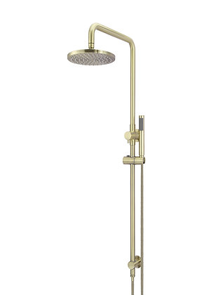 Round 2-in-1 Shower Rail Set - Tiger Bronze
