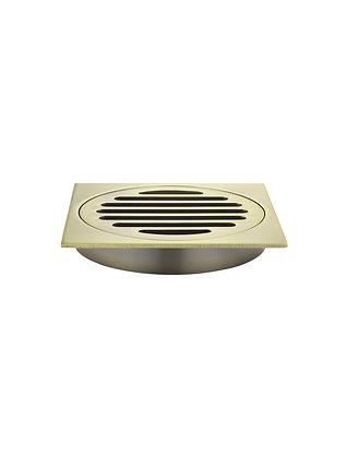 Floor Grate - 100mm - Tiger Bronze