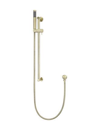 Round Shower Column w. Portable Hand - Tiger Bronze