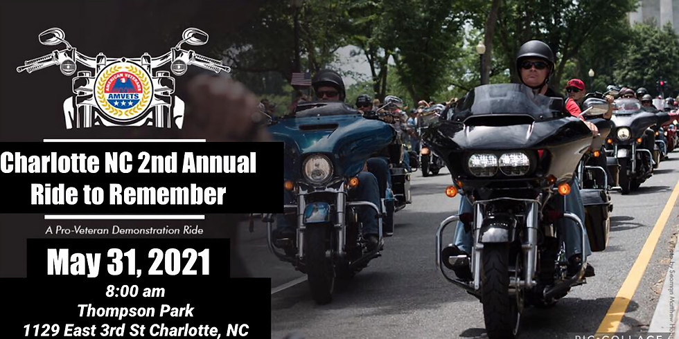 2nd Annual Ride to Remember-Charlotte