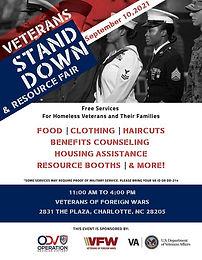 Homeless Veteran Stand Down & Resource Fair