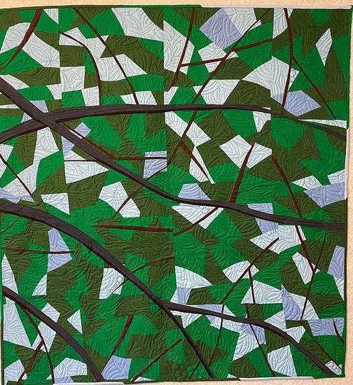 """Look up"" award-winning quilt by by Diane Wespiser"