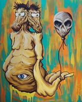 Art by Mr. Minded - Freak Scene  April 2018