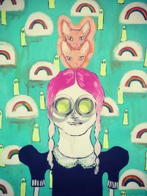 Art by Lacey Eidem- Pink Eye October 2019