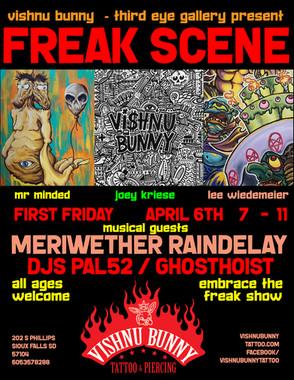 Freak Scene 4.6.2018