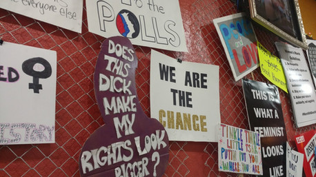 Protest Posters - Woman's March 2018
