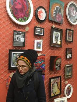Art and Artist Asher Srednas - Art Behind the Ink November 2017