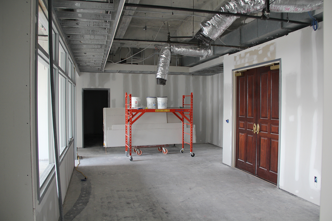 Office During Construction