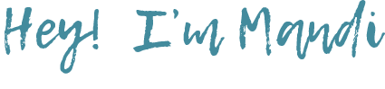 Hey I'm Mandi, a logo and website designer.