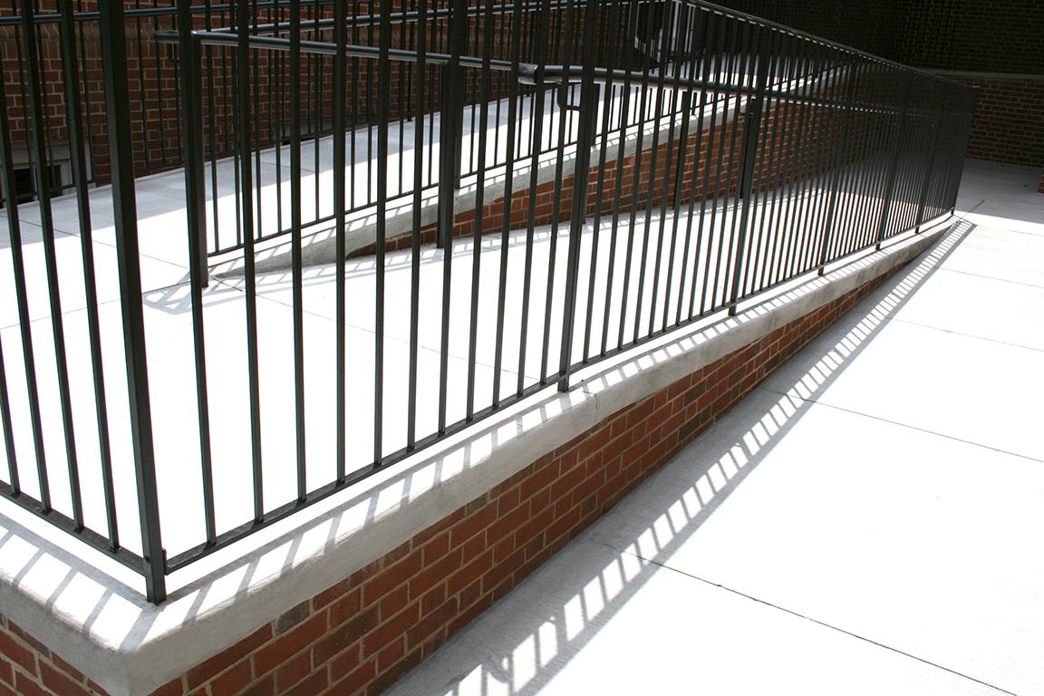 Exterior Handicap Ramp