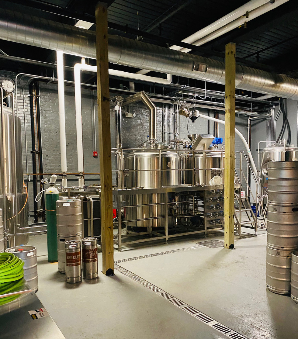 storage and brewing room