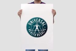 Universal Health Results Logo