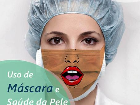 Uso de máscara e saúde da pele