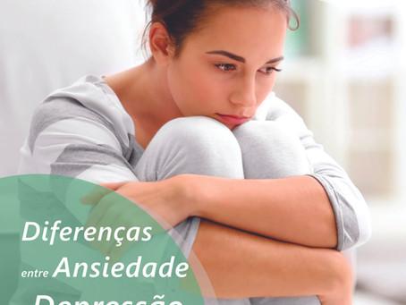 Diferenças entre Ansiedade e Depressão