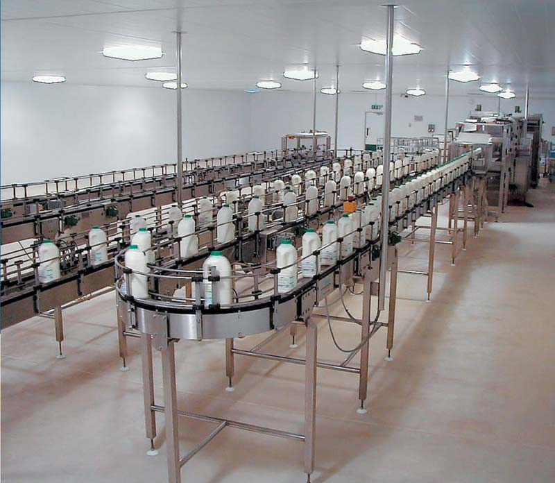CONVEYING FOR PACKING LINE