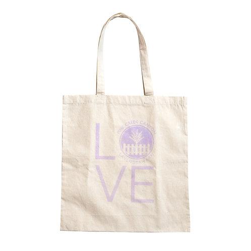 Pine Creek LOVE Tote Bag (Farm)
