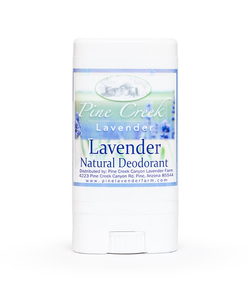 Lavender Deodorant Travel Size