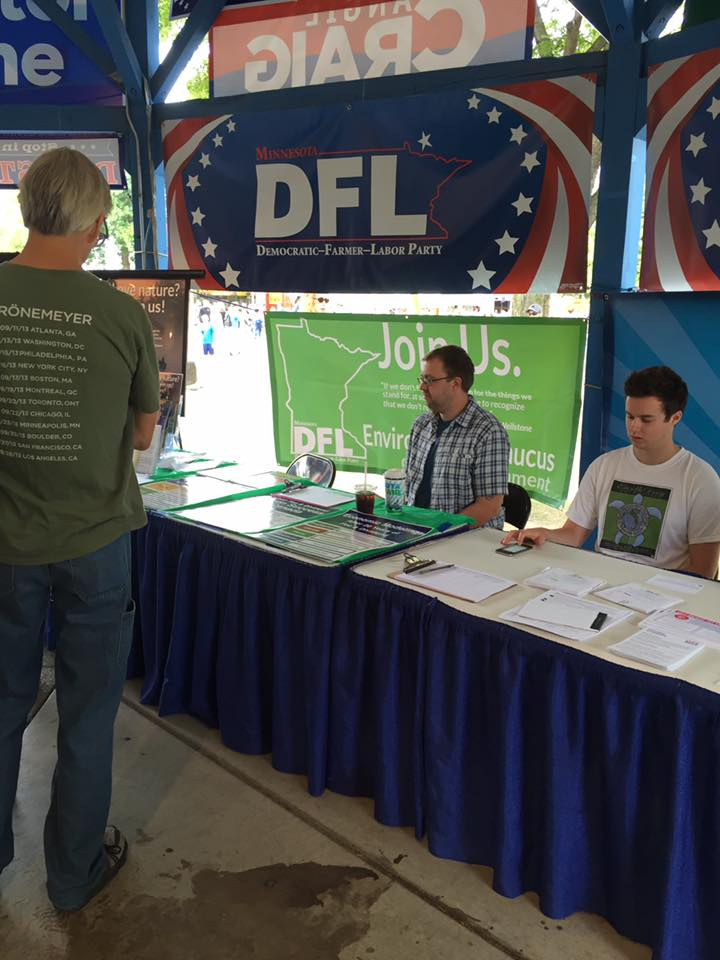 DFLEC at State DFL Convention