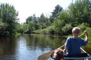 paddling the Cloquet River