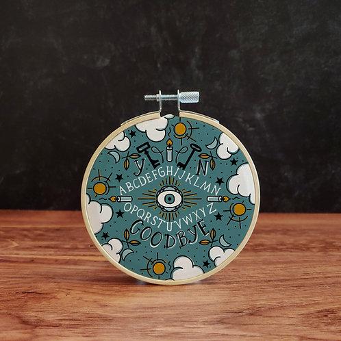 Ouija Embroidery Kit