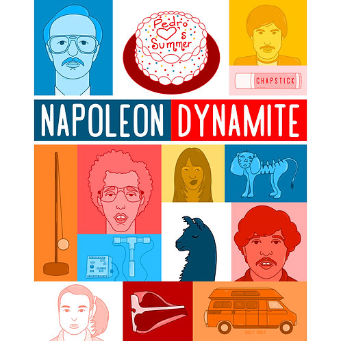 Napoleon Print with free sticker and divination deck